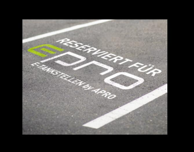 e-Tankstelle von APRO